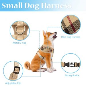 Soft Mesh Dog Harness Pet Puppy Features